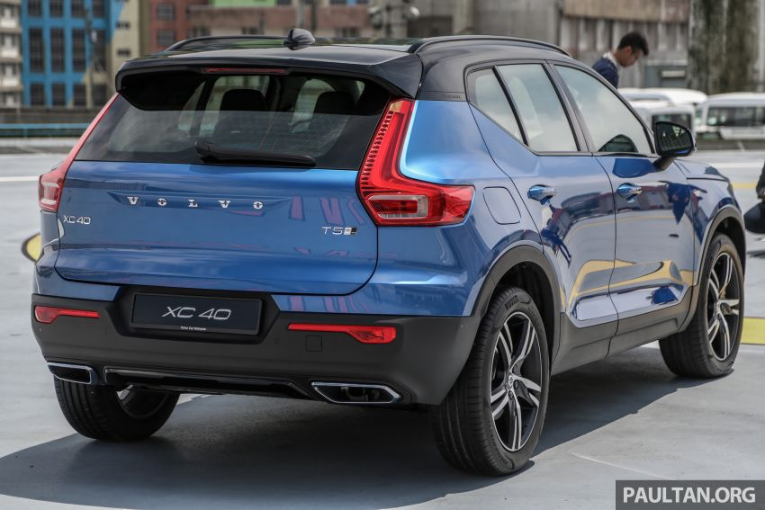 All-new Volvo XC40 SUV launched in Malaysia – single T5 AWD R-Design spec, CKD for RM255,888 Image #870163