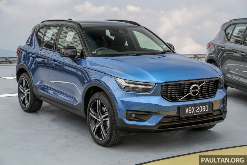All-new Volvo XC40 SUV launched in Malaysia – single T5 AWD R-Design spec, CKD for RM255,888 Image #870196