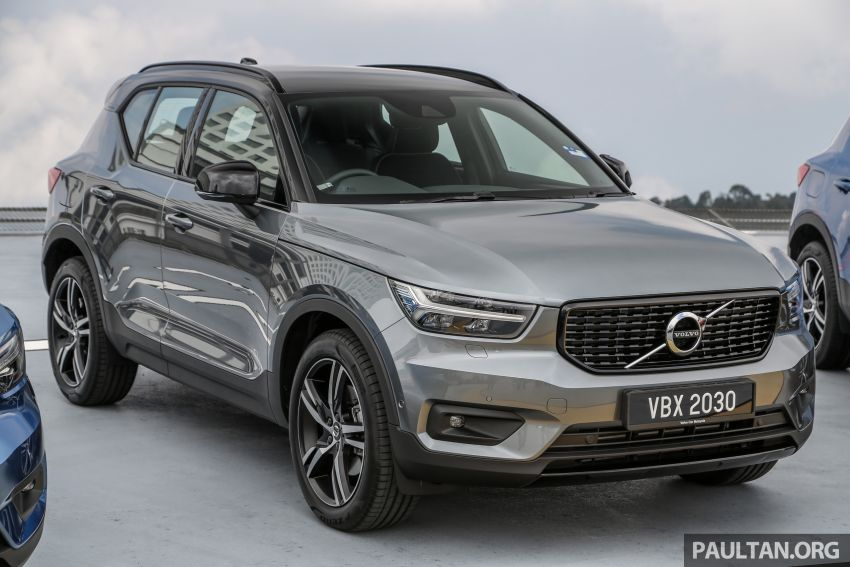 All-new Volvo XC40 SUV launched in Malaysia – single T5 AWD R-Design spec, CKD for RM255,888 Image #870198