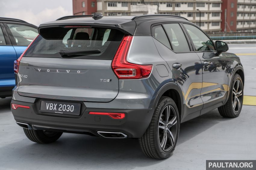 All-new Volvo XC40 SUV launched in Malaysia – single T5 AWD R-Design spec, CKD for RM255,888 Image #870199