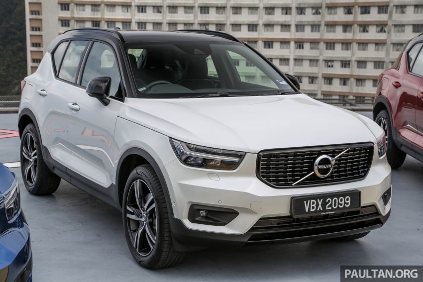All-new Volvo XC40 SUV launched in Malaysia – single T5 AWD R-Design spec, CKD for RM255,888 Image #870200