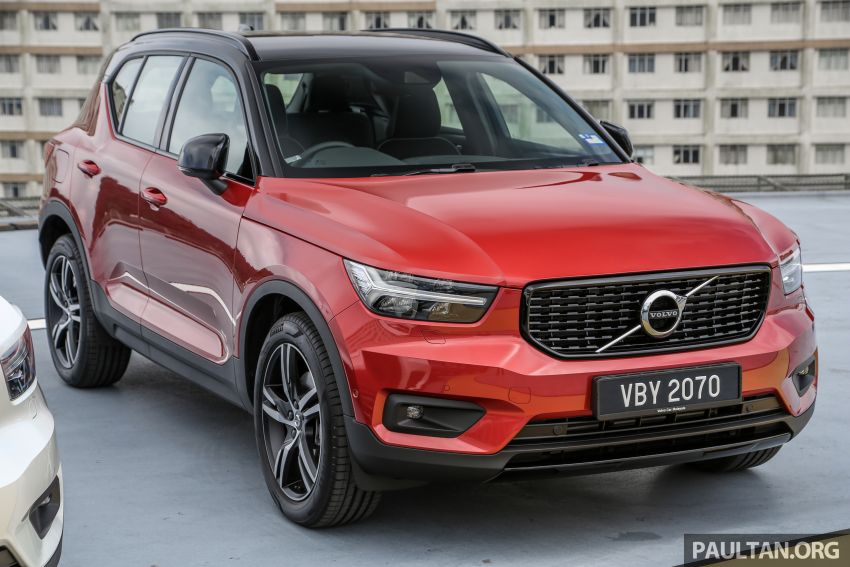 All-new Volvo XC40 SUV launched in Malaysia – single T5 AWD R-Design spec, CKD for RM255,888 Image #870202