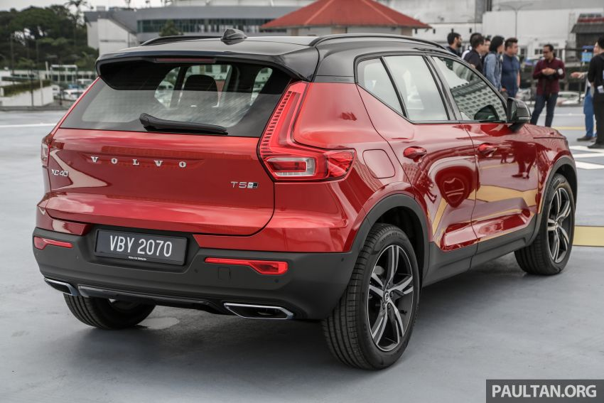 All-new Volvo XC40 SUV launched in Malaysia – single T5 AWD R-Design spec, CKD for RM255,888 Image #870203