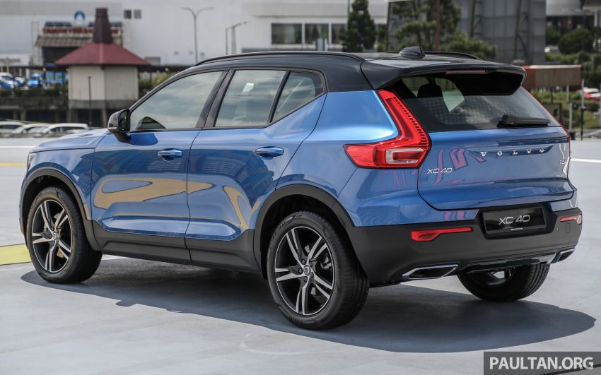 All-new Volvo XC40 SUV launched in Malaysia – single T5 AWD R-Design spec, CKD for RM255,888 Image #870164