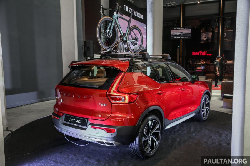 All-new Volvo XC40 SUV launched in Malaysia – single T5 AWD R-Design spec, CKD for RM255,888 Image #870205
