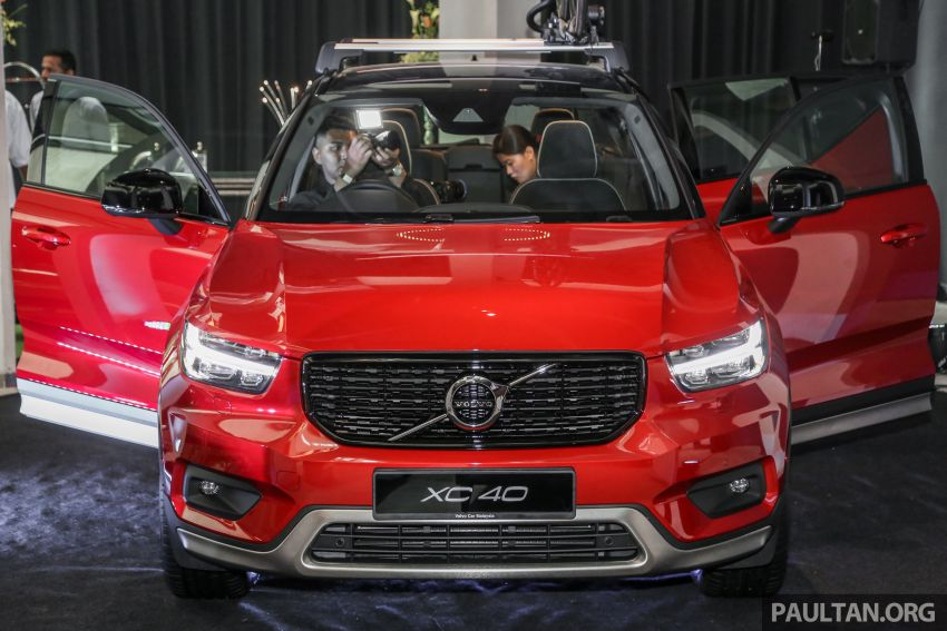 All-new Volvo XC40 SUV launched in Malaysia – single T5 AWD R-Design spec, CKD for RM255,888 Image #870206