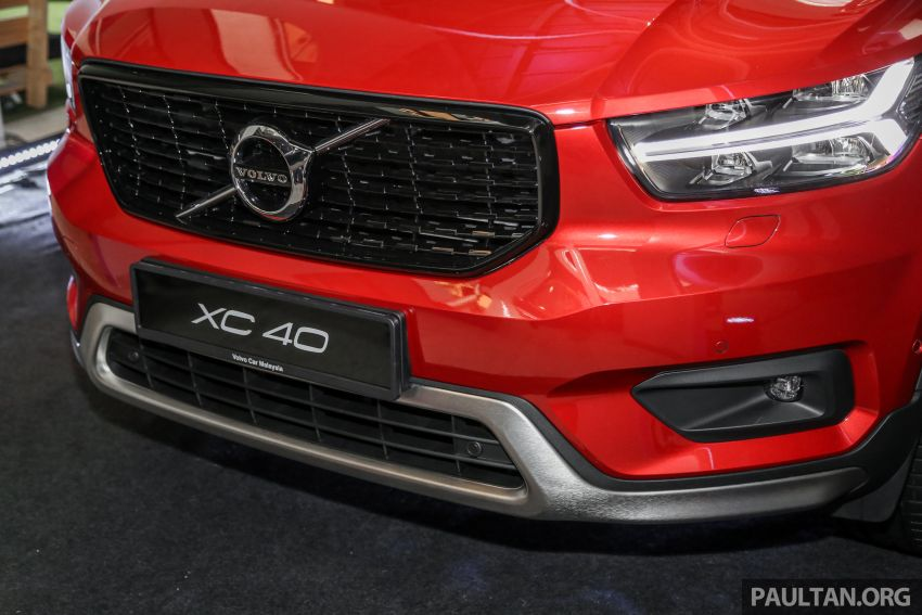 All-new Volvo XC40 SUV launched in Malaysia – single T5 AWD R-Design spec, CKD for RM255,888 Image #870207