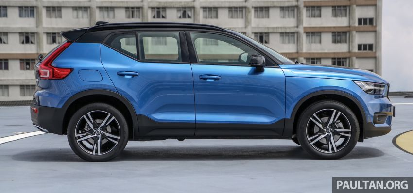 All-new Volvo XC40 SUV launched in Malaysia – single T5 AWD R-Design spec, CKD for RM255,888 Image #870166