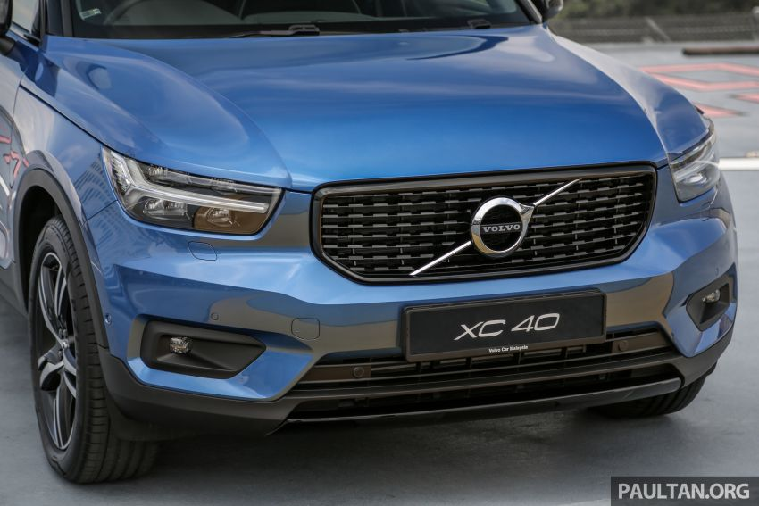 All-new Volvo XC40 SUV launched in Malaysia – single T5 AWD R-Design spec, CKD for RM255,888 Image #870167