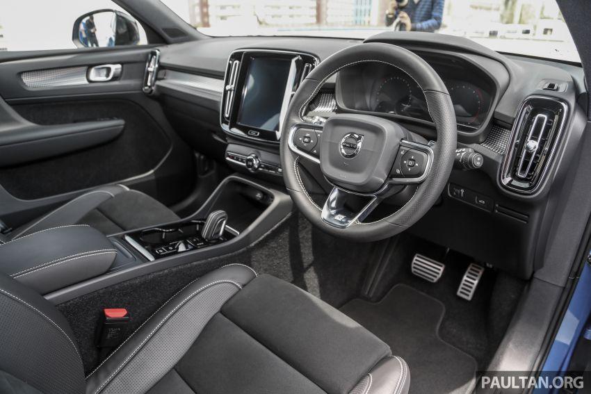 Volvo XC40 dilancarkan di Malaysia – varian tunggal T5 AWD R-Design, CKD pada harga RM255,888 Image #870382