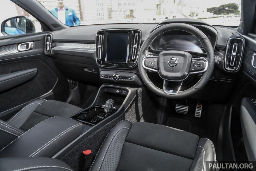 Volvo XC40 dilancarkan di Malaysia – varian tunggal T5 AWD R-Design, CKD pada harga RM255,888 Image #870403