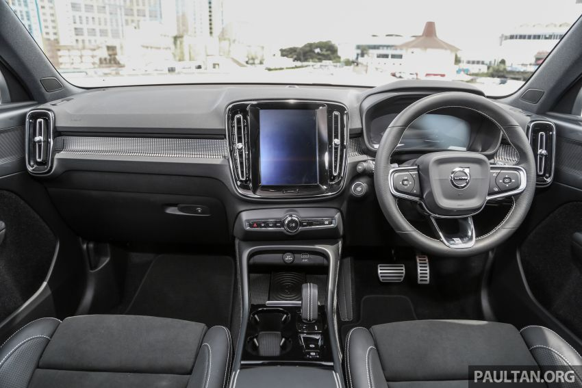 Volvo XC40 dilancarkan di Malaysia – varian tunggal T5 AWD R-Design, CKD pada harga RM255,888 Image #870383