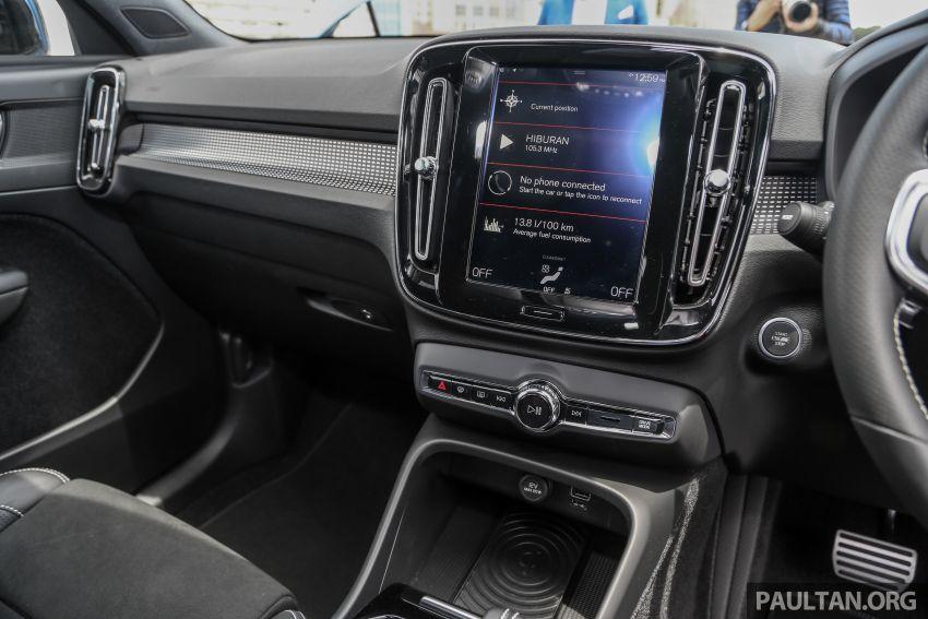 Volvo XC40 dilancarkan di Malaysia – varian tunggal T5 AWD R-Design, CKD pada harga RM255,888 Image #870388