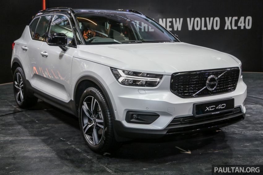 All-new Volvo XC40 SUV launched in Malaysia – single T5 AWD R-Design spec, CKD for RM255,888 Image #870003