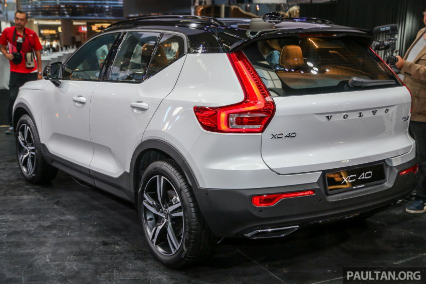 All-new Volvo XC40 SUV launched in Malaysia – single T5 AWD R-Design spec, CKD for RM255,888 Image #870004