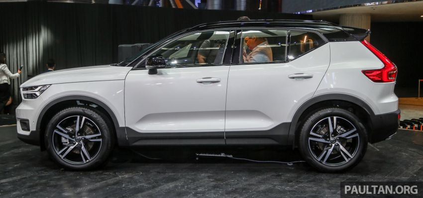 All-new Volvo XC40 SUV launched in Malaysia – single T5 AWD R-Design spec, CKD for RM255,888 Image #870005