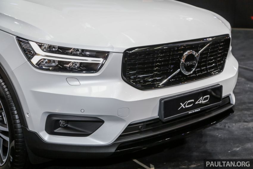 All-new Volvo XC40 SUV launched in Malaysia – single T5 AWD R-Design spec, CKD for RM255,888 Image #870006