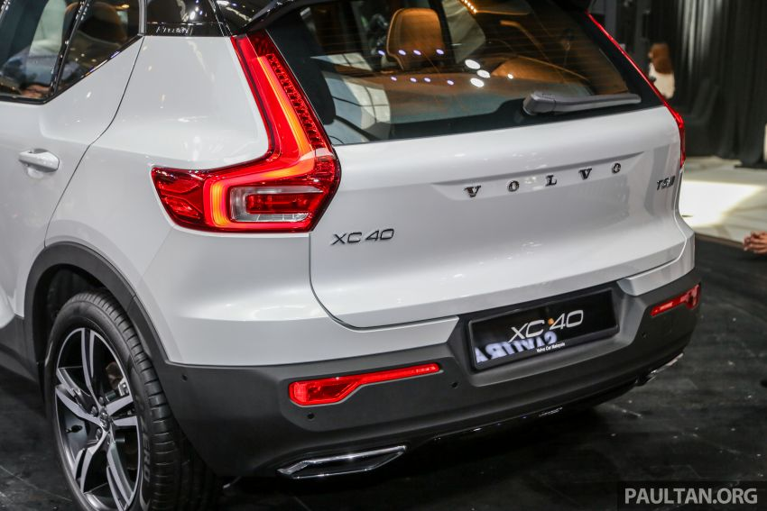 All-new Volvo XC40 SUV launched in Malaysia – single T5 AWD R-Design spec, CKD for RM255,888 Image #870007