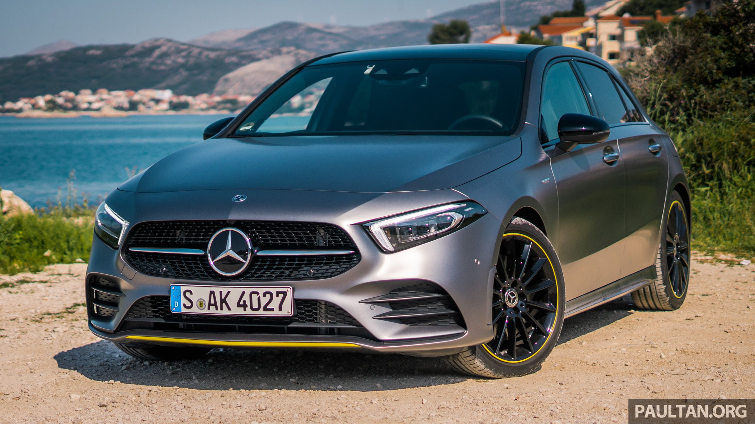 Mercedes-Benz A250e plug-in hybrid to debut soon - paultan.org