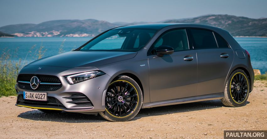 DRIVEN: W177 Mercedes-Benz A-Class in Croatia Image #869777