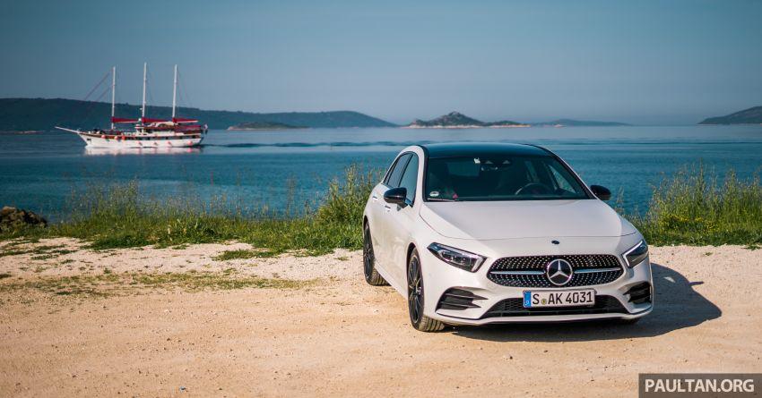 DRIVEN: W177 Mercedes-Benz A-Class in Croatia Image #869779