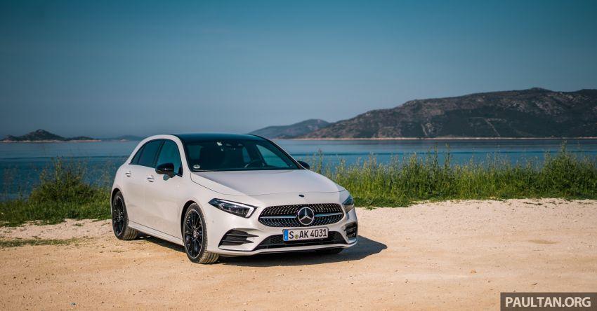 DRIVEN: W177 Mercedes-Benz A-Class in Croatia Image #869780