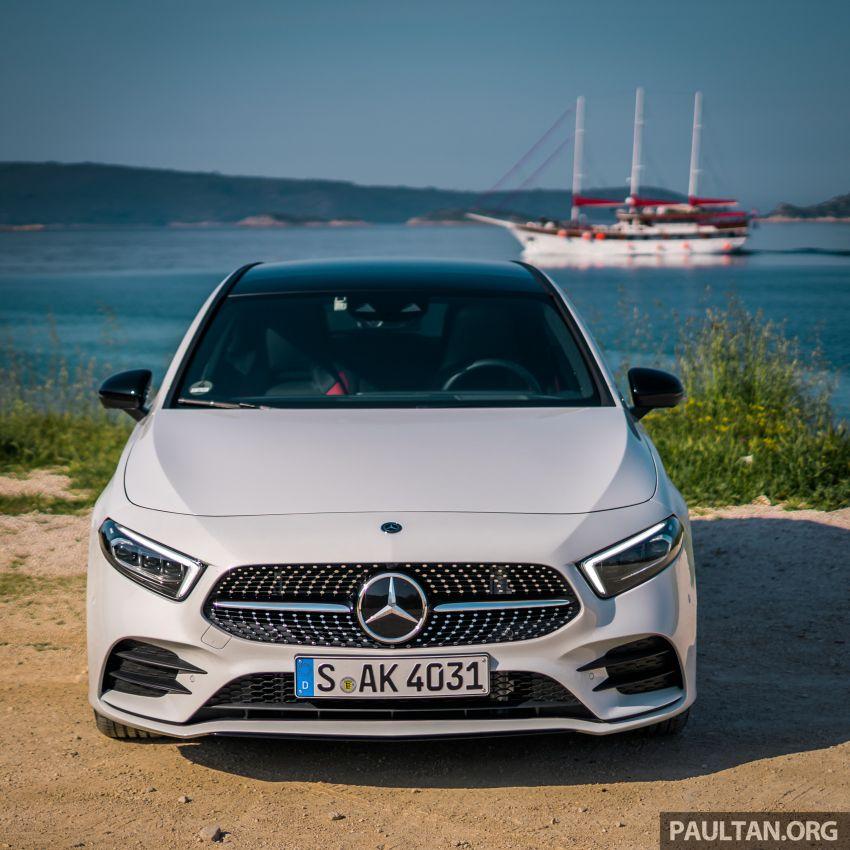DRIVEN: W177 Mercedes-Benz A-Class in Croatia Image #869783