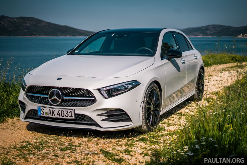 DRIVEN: W177 Mercedes-Benz A-Class in Croatia Image #869784