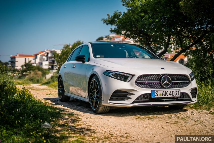 DRIVEN: W177 Mercedes-Benz A-Class in Croatia Image #869785