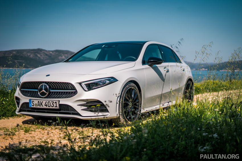 DRIVEN: W177 Mercedes-Benz A-Class in Croatia Image #869787