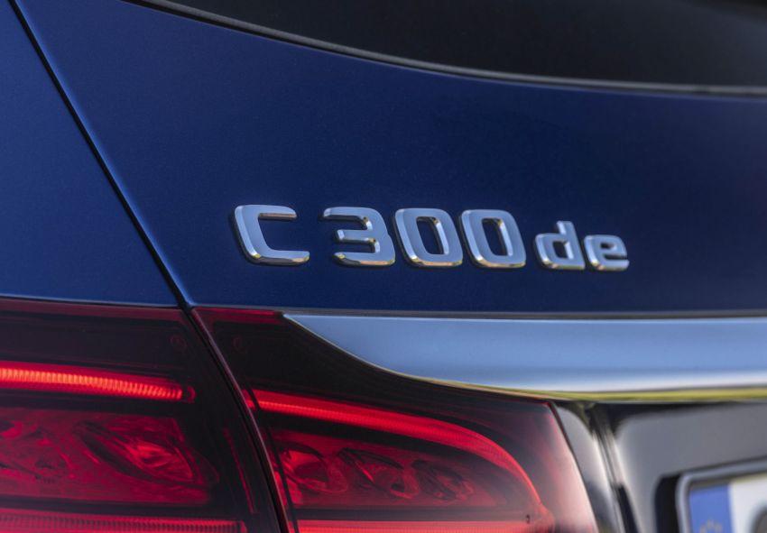 Mercedes-Benz C300de W205 – plug-in hybrid diesel Image #872412