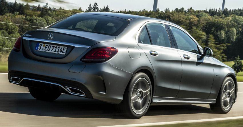 Mercedes-Benz C300de W205 – plug-in hybrid diesel Image #872438