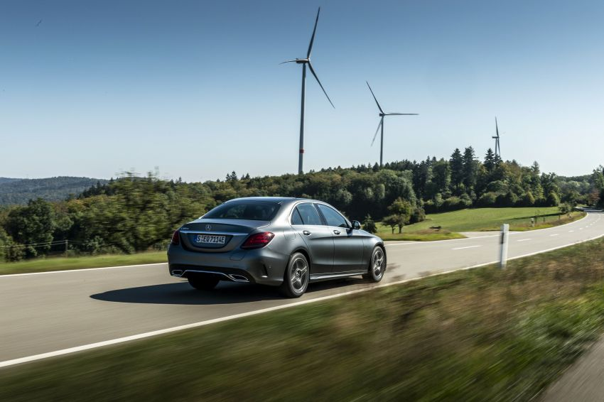 Mercedes-Benz C300de W205 – plug-in hybrid diesel Image #872439