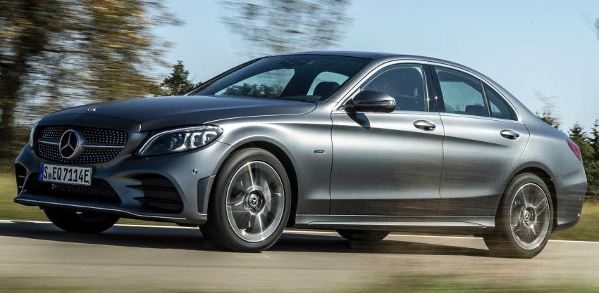 Mercedes-Benz C300de W205 – plug-in hybrid diesel Image #872440