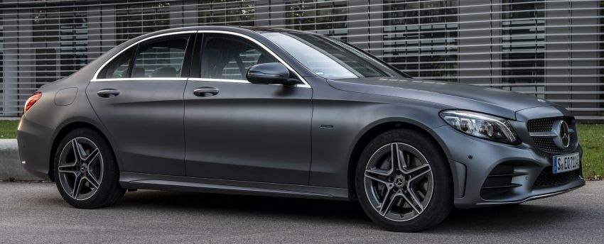 Mercedes-Benz C300de W205 – plug-in hybrid diesel Image #872451