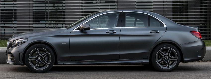 Mercedes-Benz C300de W205 – plug-in hybrid diesel Image #872453