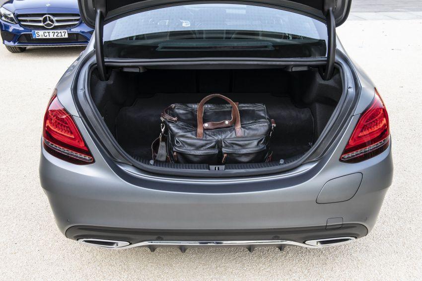 Mercedes-Benz C300de W205 – plug-in hybrid diesel Image #872461