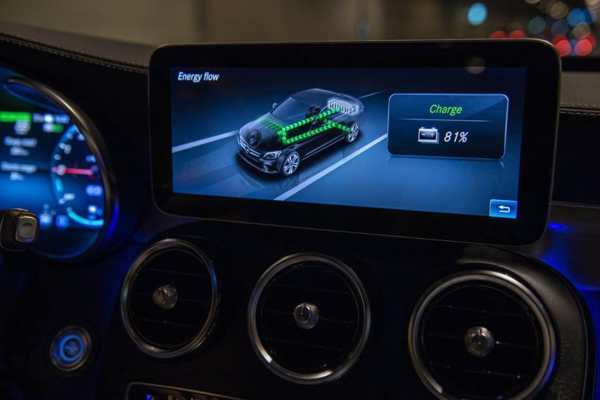 Mercedes-Benz C300de W205 – plug-in hybrid diesel Image #872463