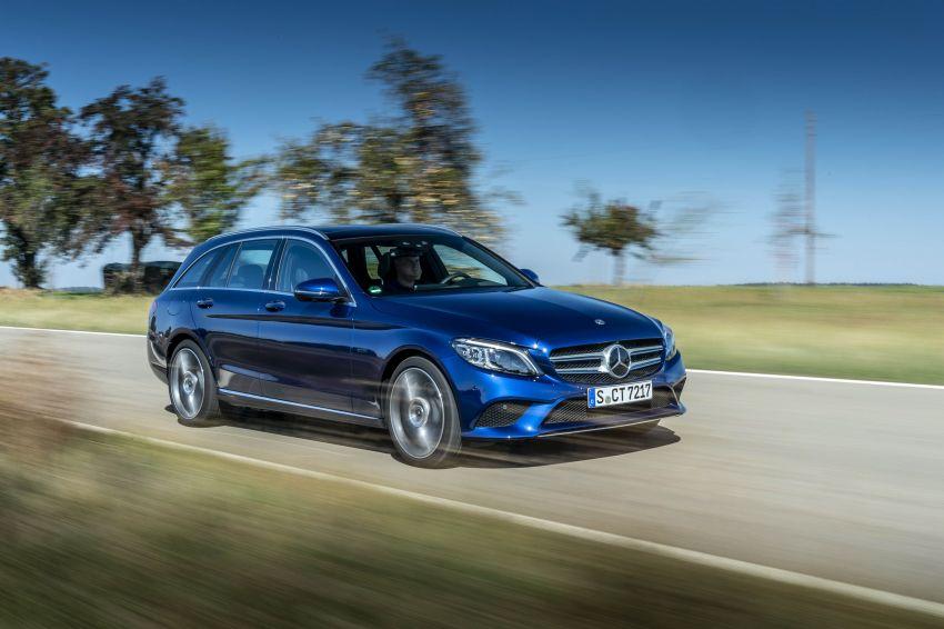 Mercedes-Benz C300de W205 – plug-in hybrid diesel Image #872418