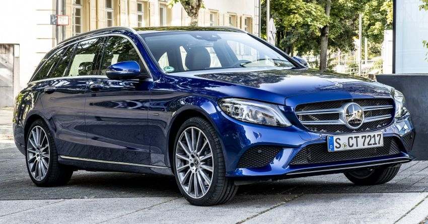 Mercedes-Benz C300de W205 – plug-in hybrid diesel Image #872420