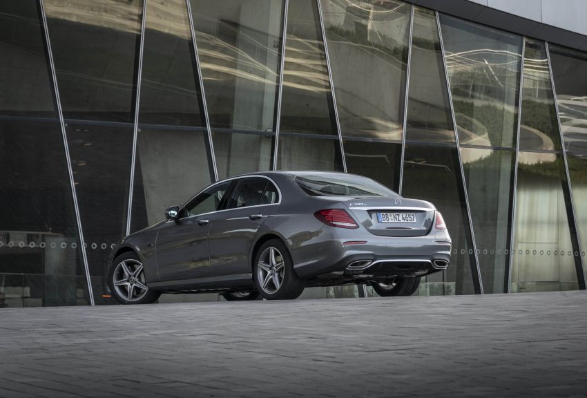 W213 Mercedes-Benz E300e and E300de debut – new plug-in hybrid models with up to 320 PS, 1.6 l/100 km Image #872214