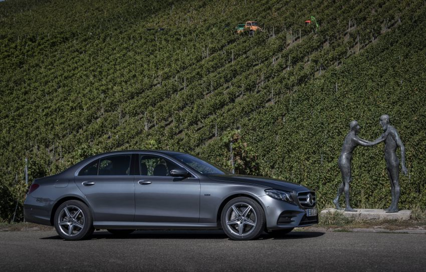 W213 Mercedes-Benz E300e and E300de debut – new plug-in hybrid models with up to 320 PS, 1.6 l/100 km Image #872224