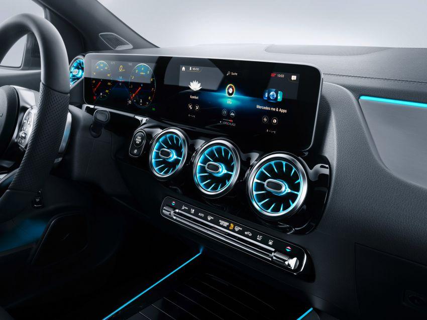 Mercedes-Benz B-Class W247 ditunjuk di Paris Motor Show – pilihan enjin petrol atau diesel, transmisi baru Image #867673