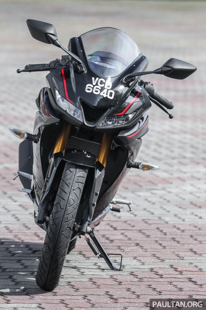 TUNGGANG UJI: Yamaha YZF-R15 – untuk 'kaki roket' Image #881526