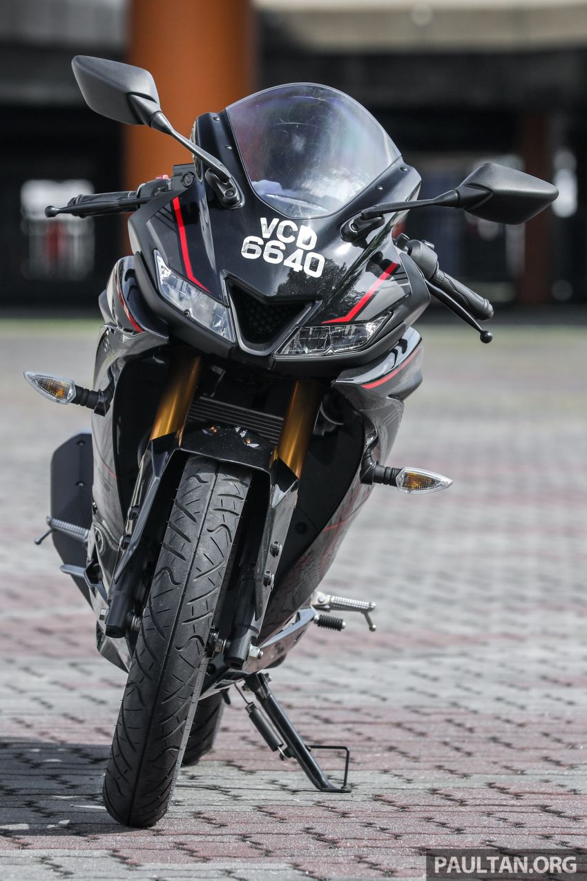 TUNGGANG UJI: Yamaha YZF-R15 – untuk 'kaki roket' Image #881527