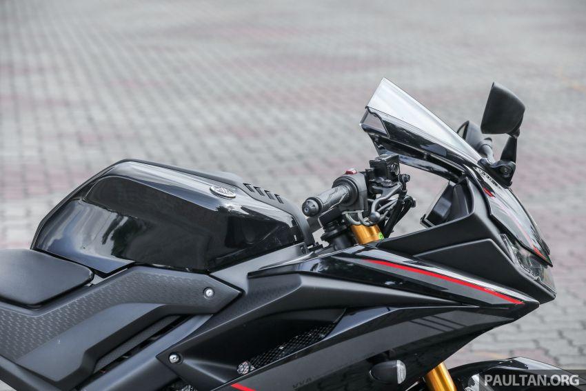 TUNGGANG UJI: Yamaha YZF-R15 – untuk 'kaki roket' Image #881530