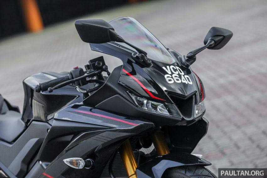 TUNGGANG UJI: Yamaha YZF-R15 – untuk 'kaki roket' Image #881531