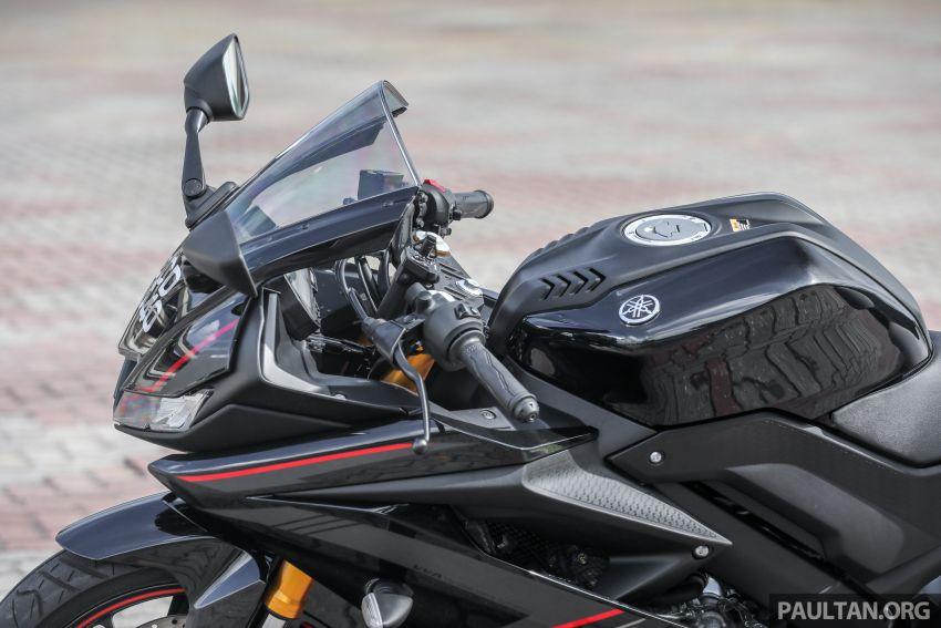 TUNGGANG UJI: Yamaha YZF-R15 – untuk 'kaki roket' Image #881534