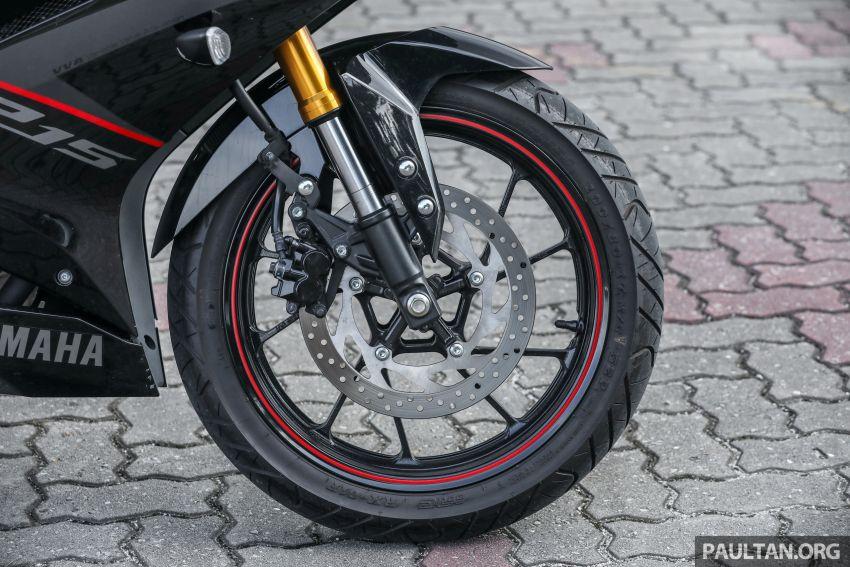 TUNGGANG UJI: Yamaha YZF-R15 – untuk 'kaki roket' Image #881538