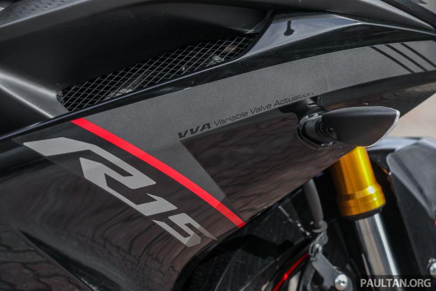 TUNGGANG UJI: Yamaha YZF-R15 – untuk 'kaki roket' Image #881545
